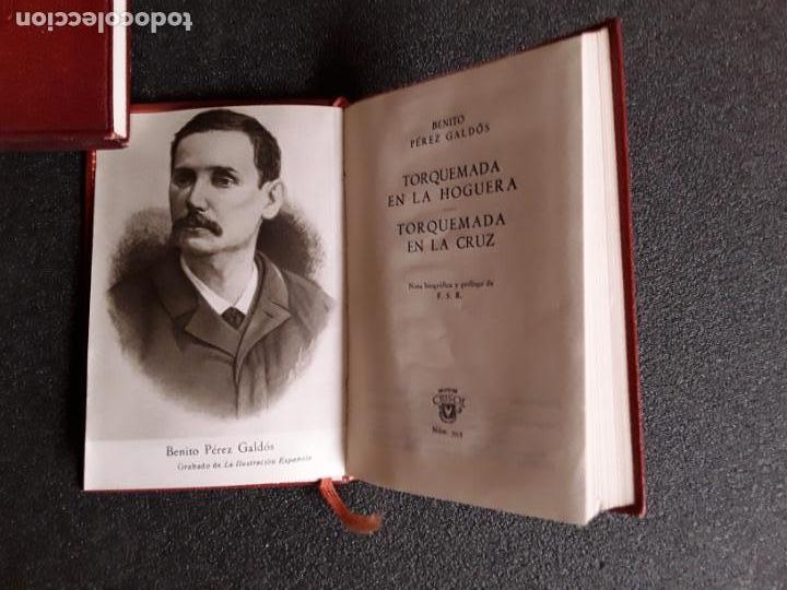 Libros: Perez Galdos, Benito. Torquemada en la hoguera y en la cruz. (Crisol 393) - Foto 3 - 146621710