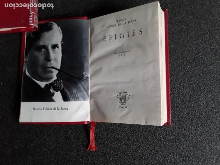 Libros: Gomez de la Serna, Ramón. Efigies. (Crisol N.º 79) - Foto 3 - 146725134
