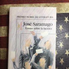 Libros: ENSAYO SOBRE LA LUCIDEZ. Lote 148717370
