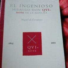 Libros: EL INGENIOSO HIDALGO DON QUIJOTE DE LA MANCHA. Lote 152345324