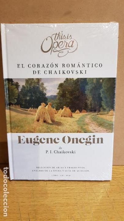 THIS IS OPERA / EUGENE ONEGIN DE P.I. CHAIKOVSKI / LIBRO CD + DVD / PRECINTADO (Libros Nuevos - Narrativa - Literatura Española)