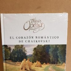 Libros: THIS IS OPERA / EUGENE ONEGIN DE P.I. CHAIKOVSKI / LIBRO CD + DVD / PRECINTADO. Lote 183072296