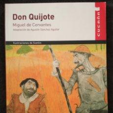 Libros: DON QUIJOTE. CUCAÑA. VICENS VIVES.. Lote 156589724