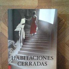 Libros: CARE SANTOS - HABITACIONES CERRADAS. Lote 156963122