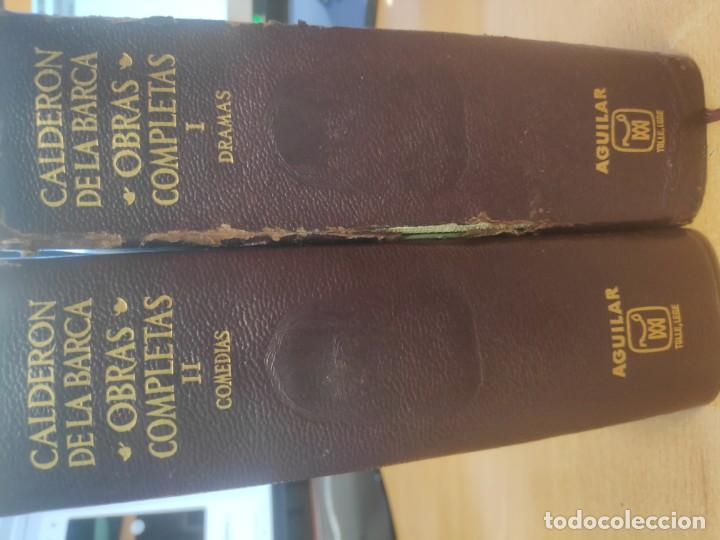 CALDERÓN DE LA BARCA, OBRAS COMPLETAS 1/2/ (COMEDIAS) · AGUILAR, 1960 (Libros Nuevos - Narrativa - Literatura Española)
