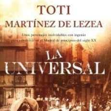 Libros: LA UNIVERSAL. Lote 165038222