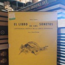Libros: EL LIBRO DE LOS SONETOS. Lote 169652984