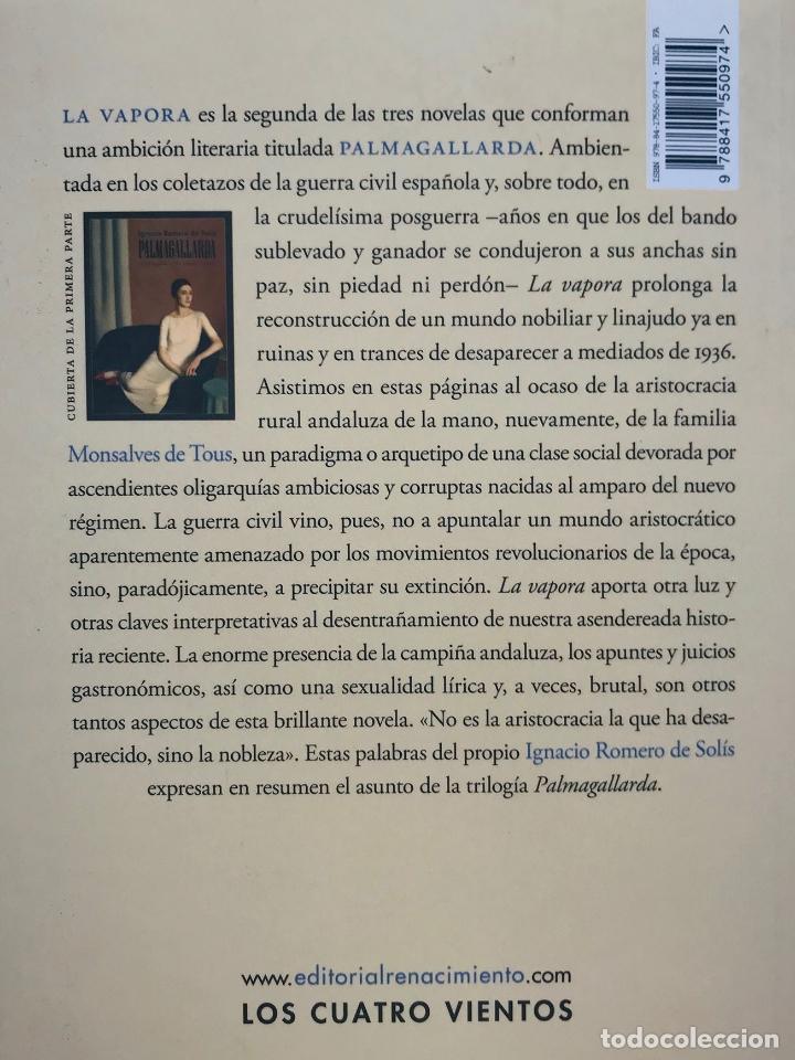 Libros: Palmagallarda. II. La Vapora . Ignacio Romero de Solís. - Foto 2 - 213337470