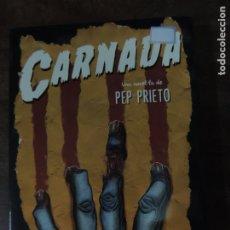 Libros: LIBRO - CARNADA - PEP PRIETO - EDITORIAL BRIDGE - EN CATALÁN. Lote 176730562