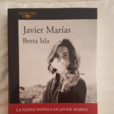 Libros: LIBRO / BERTA ISLA / JAVIER MARIAS 2017. Lote 179208035