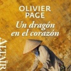 Libros: UN DRAGÓN EN EL CORAZÓN. Lote 179244782