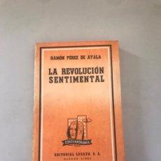 Libros: LA REVOLUCIÓN SENTIMENTAL. Lote 180177275