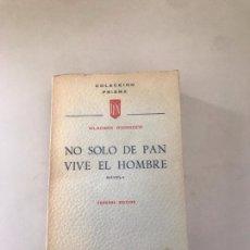 Libros: NO SOLO DE PAN VIVE EL HOMBRE. Lote 180177305