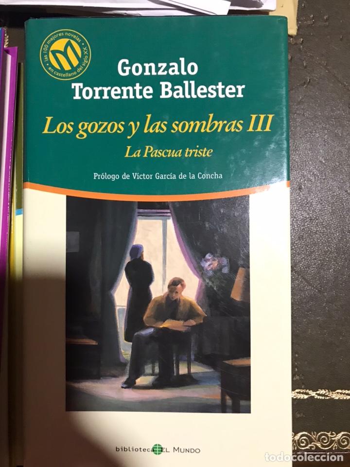 Libros: Los gozos y las sombras 3 volúmenes. Gonzalo Torrente Ballester. - Foto 4 - 182703051