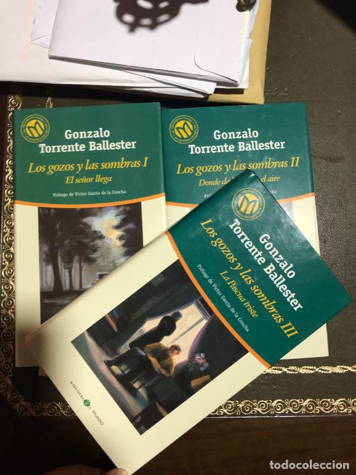 LOS GOZOS Y LAS SOMBRAS 3 VOLÚMENES. GONZALO TORRENTE BALLESTER. (Libros Nuevos - Narrativa - Literatura Española)