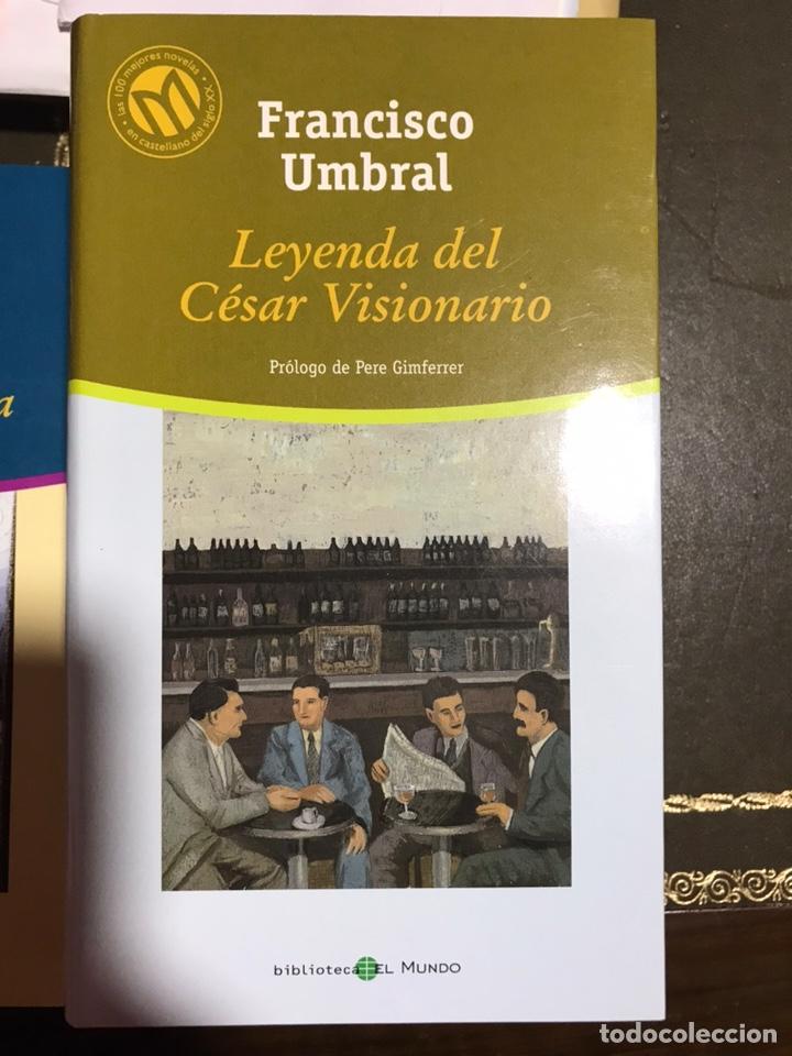 LEYENDA DEL CESAR VISIONARIO. FRANCISCO UMBRAL (Libros Nuevos - Narrativa - Literatura Española)