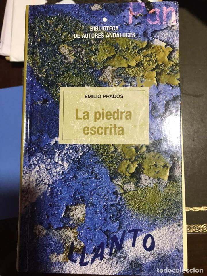 LA PIEDRA ESCRITA. EMILIO PRADOS (Libros Nuevos - Narrativa - Literatura Española)