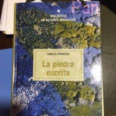 Libros: LA PIEDRA ESCRITA. EMILIO PRADOS. Lote 182705491
