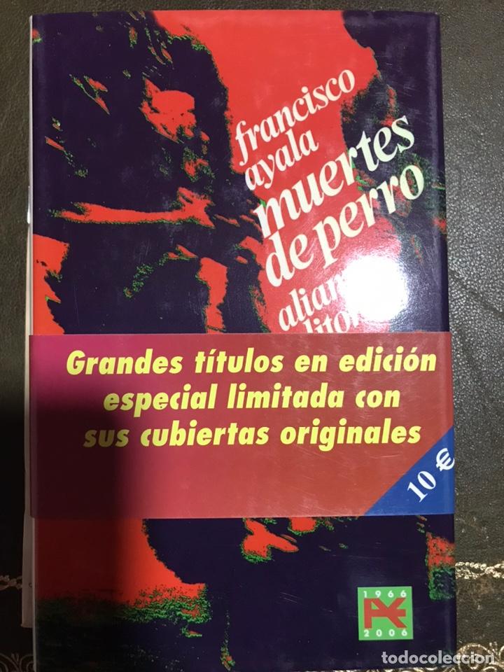 MUERTES DE PERRO FRANCISCO AYALA (Libros Nuevos - Narrativa - Literatura Española)