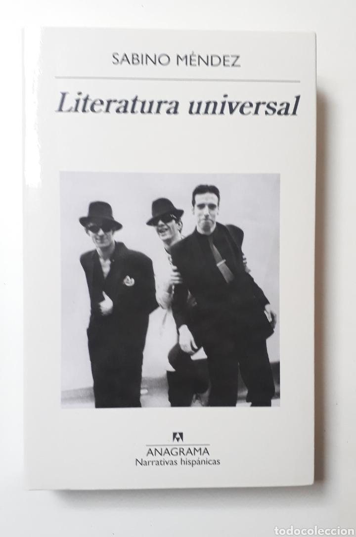 LITERATURA UNIVERSAL (Libros Nuevos - Narrativa - Literatura Española)