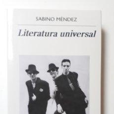 Libros: LITERATURA UNIVERSAL. Lote 182829865