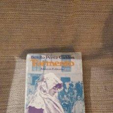 Libros: LIBRO TORMENTO BENITO PÉREZ GALDÓS ALIANZA EDITORIAL. Lote 183316795