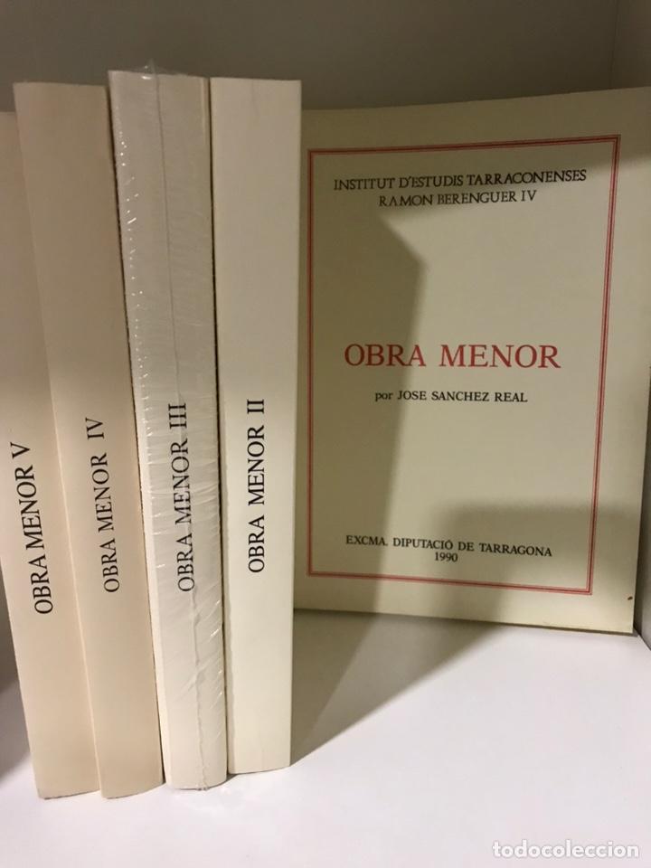 JOSÉ SÁNCHEZ REAL OBRA MENOR 5 TOMOS (Libros Nuevos - Narrativa - Literatura Española)