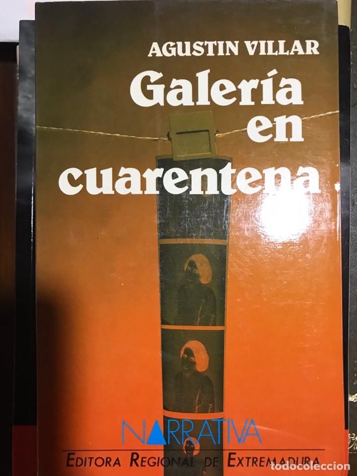 GALERÍA EN CUARENTENA AGUSTIN VILLAR (Libros Nuevos - Narrativa - Literatura Española)