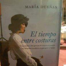 Libros: EL TIEMPO ENTRE COSTURAS, DE MARIA DUEÑAS. Lote 190030293