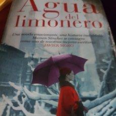 Libros: AGUA DEL LIMONERO, DE MAMEN SÁNCHEZ. Lote 190041420