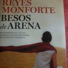 Libros: BESOS DE ARENA, DE REYES MONFORTE. Lote 190041620