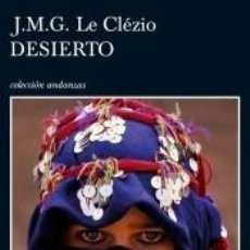Libros: DESIERTO. Lote 191792040