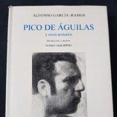 Libros: PICO DE ÁGUILAS (Y OTROS ARTÍCULOS) - ALFONSO GARCÍA-RAMOS -ACT- CABILDO TENERIFE - AÑO 1990. Lote 121827339