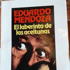 Libros: LIBROS EDUARDO MENDOZA EL LABERINTO DE LAS ACEITUNAS. Lote 192835815