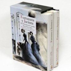 Libros: BENITO PÉREZ GALDÓS.- FORTUNATA Y JACINTA. ILUSTRACIONES DE TOÑO BENAVIDES. REINO DE CORDELIA. Lote 210531767
