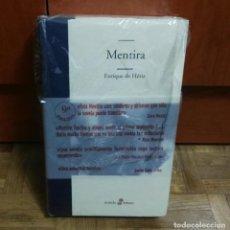 Libros: MENTIRA. ENRIQUE DE HÉRIZ EDHASA 9ª EDICIÓN PRECINTADO SIN USAR. Lote 194105735