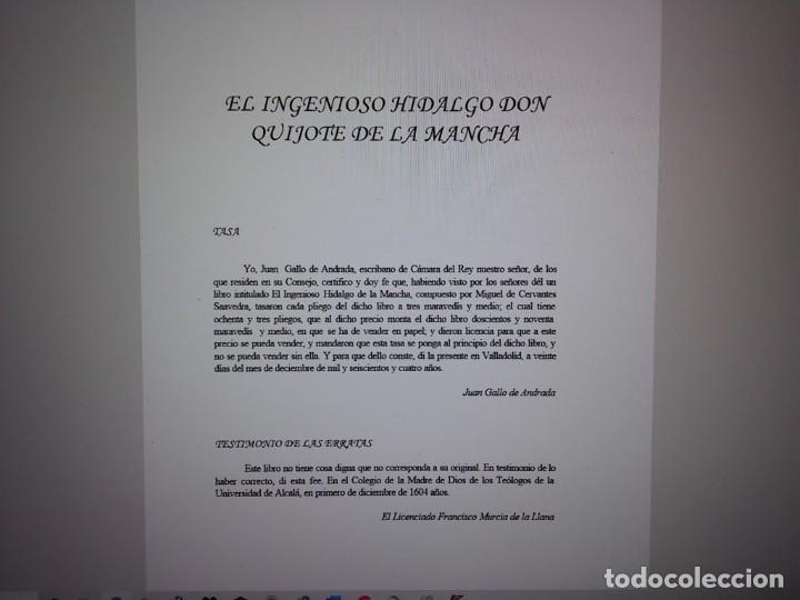 Libros: MIGUEL DE CERVANTES-DON QUIJOTE DE LA MANCHA - Foto 5 - 194179441