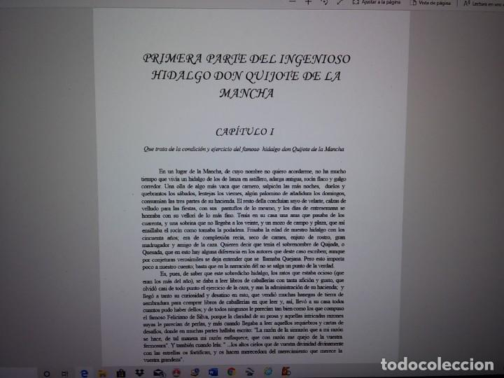 Libros: MIGUEL DE CERVANTES-DON QUIJOTE DE LA MANCHA - Foto 6 - 194179441