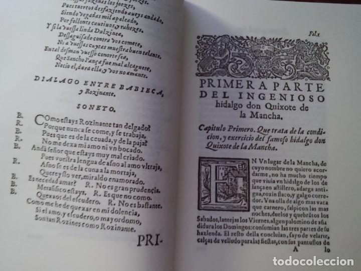 Libros: MIGUEL DE CERVANTES-DON QUIJOTE DE LA MANCHA - Foto 10 - 194179441