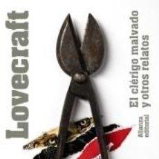 Libros: EL CLÉRIGO MALVADO Y OTROS RELATOS. Lote 194880280