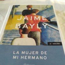 Libros: LA MUJER DE MI HERMANO.. Lote 195404943