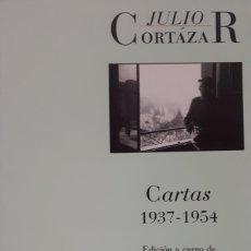 Livros: CARTAS 1937 1954. DE JULIO CORTÁZAR. Lote 196386933
