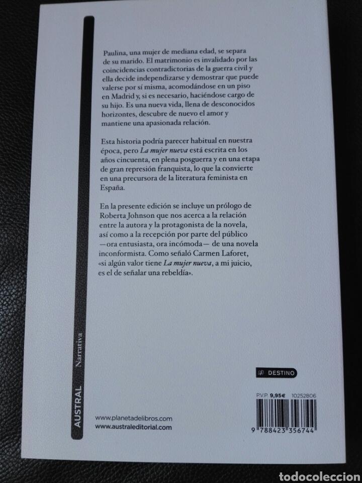 Libros: La mujer nueva Carmen Laforet. Libro nuevo - Foto 2 - 198322603