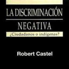 Libros: DISCRIMINACION NEGATIVA. Lote 198884500