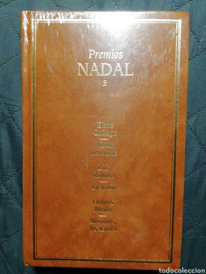 NUEVO EN EL PLÁSTICO! PREMIOS NADAL 3. ELENA QUIROGA. LUIS ROMERO. DOLORES MEDIO (Libros Nuevos - Narrativa - Literatura Española)