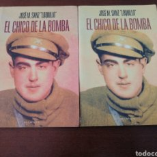 Libros: LOTE 2 EDICIONES LOQUILLO EL CHICO DE LA BOMBA BELAQVA 2002. Lote 204246056