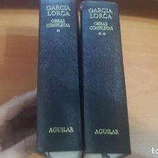 Libros: OBRAS COMPLETAS - FEDERICO GARCIA LORCA 1977. Lote 204597326