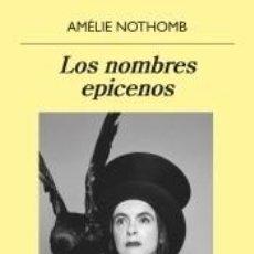 Libros: LOS NOMBRES EPICENOS. Lote 205694086