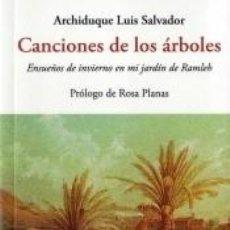Libros: CANCIONES DE LOS ARBOLES. Lote 205760301