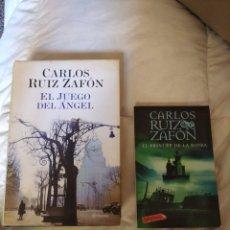 Libros: LOTE LIBROS CARLOS RUIZ ZAFON. Lote 206324242